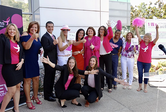 Dr. Jabbari celebrates with Komen, Atikins in the elimination of cancer treatment limits
